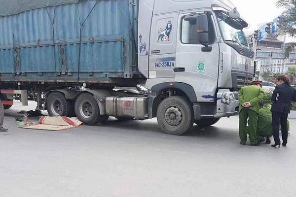 Danh tính người đàn ông đi nhặt ve chai bị xe tải đâm chết ở Quảng Ninh