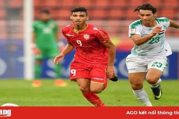 Bảng A U.23 Châu Á 2020: U.23 Bahrain suýt gây sốc trước U.23 Iraq
