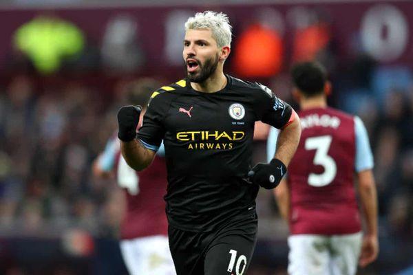 Aguero lập 2 kỷ lục, Man City chiếm ngôi nhì sau màn 'vùi dập' Aston Villa
