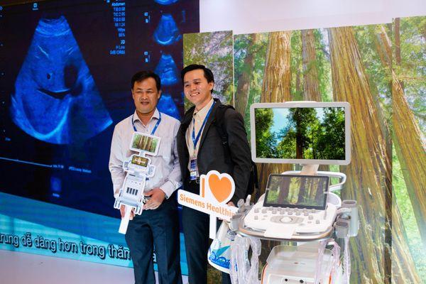 Siemens Healthineers ra mắt hệ thống siêu âm ACUSON Redwood