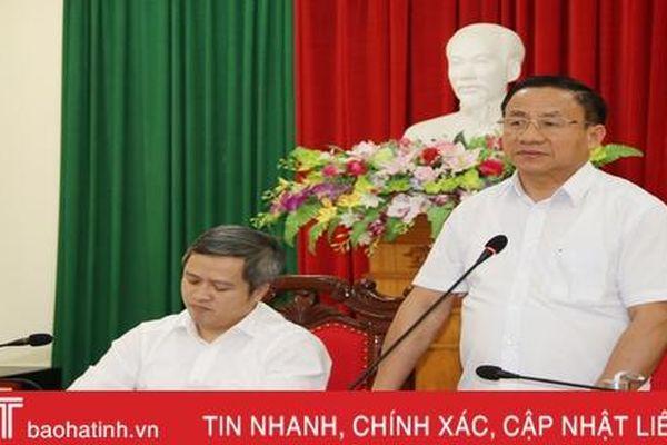 Bí thư Tỉnh ủy Hà Tĩnh: Phân vai rõ trách nhiệm, tập trung xử lý hiệu quả các vụ việc của công dân