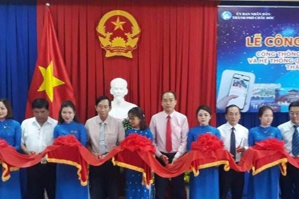 Thành phố Châu Đốc khai trương Cổng thông tin du lịch thông minh