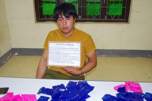Điện Biên bắt đối tượng vận chuyển 10.000 viên ma túy tổng hợp
