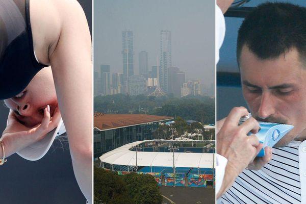 VĐV bị ngạt thở vì khói bụi, Australia mở rộng gặp thế bí