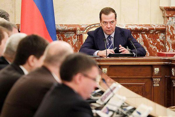 Phản ứng của các Bộ trưởng Nga khi ông Medvedev tuyên bố giải tán Chính phủ