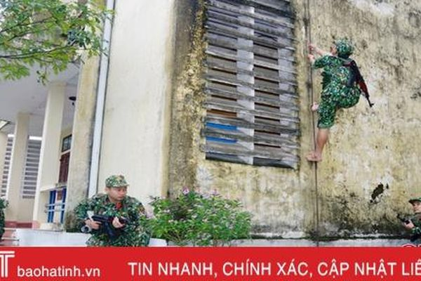 Ngày tết, lính trinh sát đặc nhiệm vẫn hăng say tập luyện