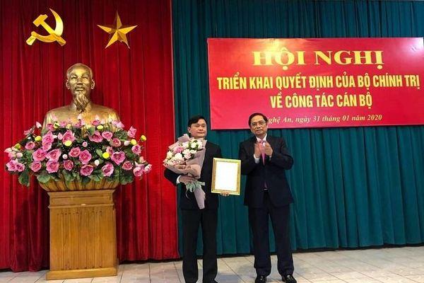 Đồng chí Thái Thanh Quý giữ chức Bí thư Tỉnh ủy Nghệ An