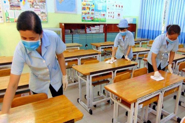 TP.HCM: 1 HS xin nghỉ 7 ngày vì tiếp xúc người Trung Quốc