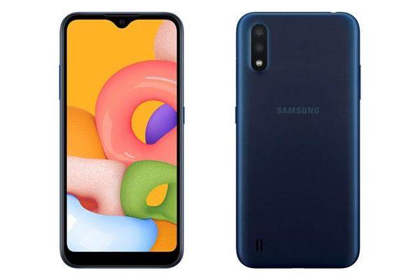Trên tay Samsung Galaxy A01, giá 2,79 triệu đồng tại Việt Nam