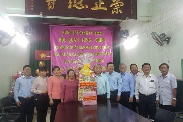 Đoàn lãnh đạo Thành ủy TPHCM thăm, chúc mừng Tết Nguyên tiêu các Hội quán người Hoa