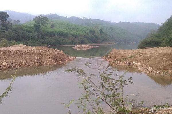 Vụ việc Doanh nghiệp tư nhân Trường Linh chặn dòng sông Hiếu: Đã khơi thông lại một phần dòng chảy!
