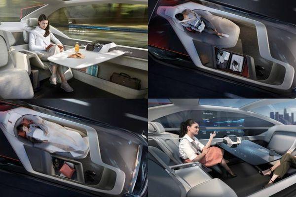 Những mẫu xe hơi thông minh sắp lăn bánh trên phố