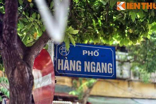 Khám phá ít người biết về tên gọi phố Hàng Ngang