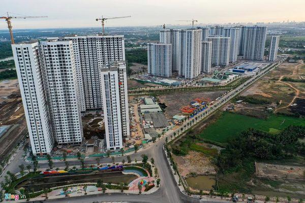 Toàn cảnh 'siêu dự án' quận 9 sau gần 1 năm thi công