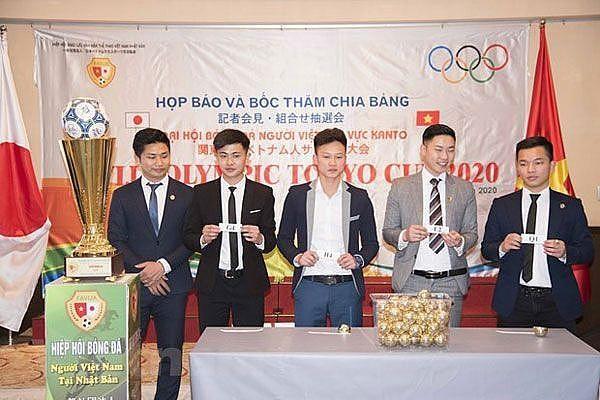 Khởi động giải bóng đá lớn nhất của cộng đồng người Việt tại Nhật Bản