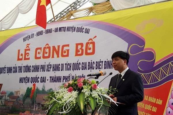 Chính phủ công nhận Đình làng So (Quốc Oai - Hà Nội) là Di tích Quốc gia Đặc biệt