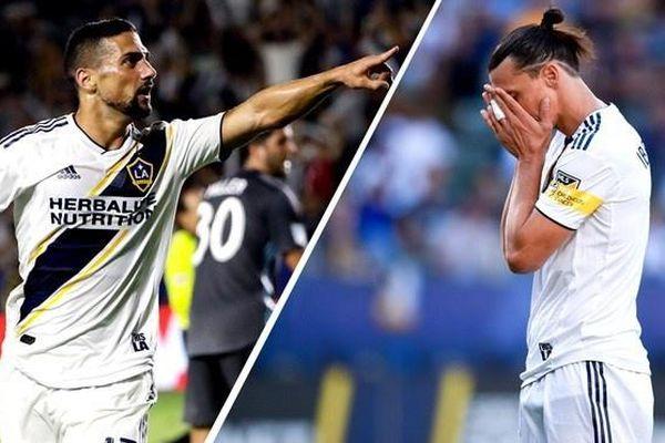 Cầu thủ LA Galaxy muốn cởi giày rời sân khi đá cùng Ibra
