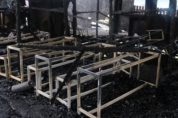 Cháy trung tâm tị nạn trên đảo Lesbos của Hy Lạp