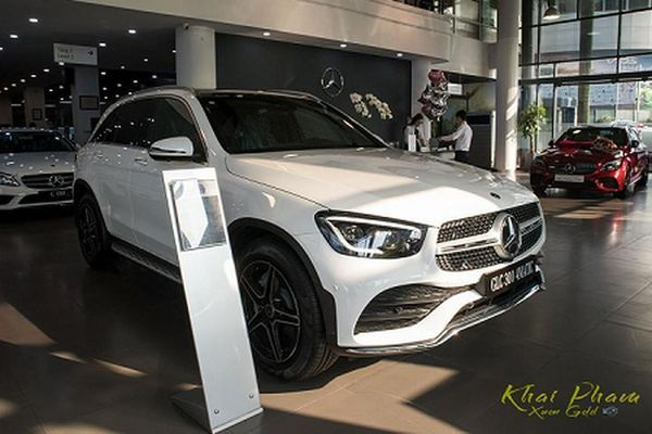 Mercedes-Benz GLC 300 4Matic CKD hơn 2,3 tỷ tại Việt Nam