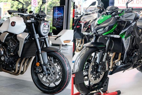 So sánh Kawasaki Z1000 R và Honda CB1000R - trẻ trung đối đầu cổ điển