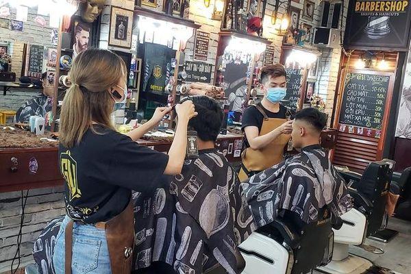 Tiệm hớt tóc, quán nhậu tuân thủ lệnh tạm ngưng hoạt động