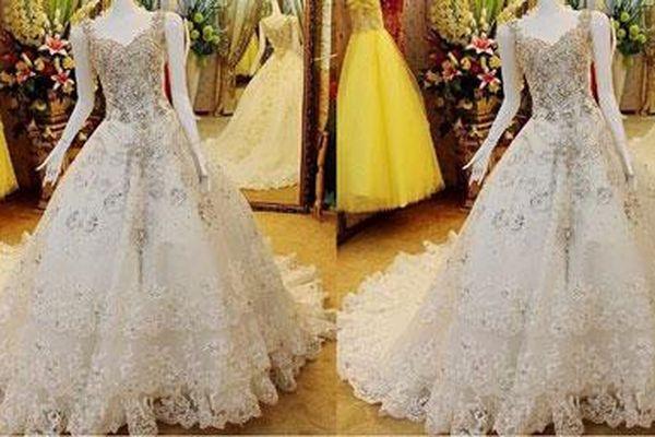 Chiêm ngưỡng top 10 bộ váy cưới đắt nhất thế giới