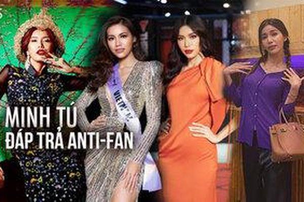 Những lần đáp trả anti-fan không ngại thị phi của siêu mẫu - hoa hậu Minh Tú