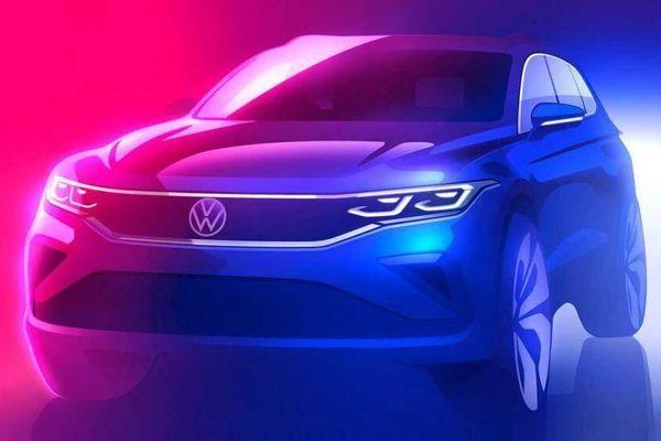 Volkswagen Tiguan 2020 lộ thiết kế mới, cạnh tranh với Mercedes-Benz GLC