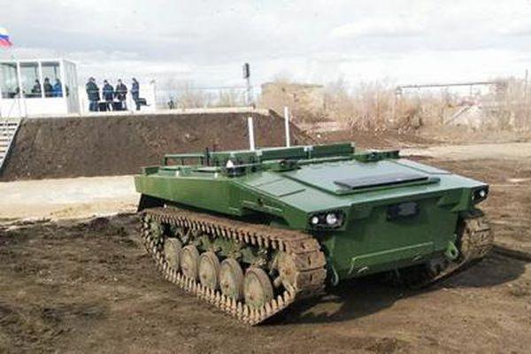 Nga hoàn thành robot chiến đấu thế hệ mới vào cuối năm 2021