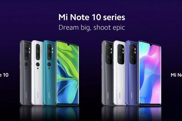 Xiaomi Mi Note 10 Lite sẽ ra mắt vào ngày mai 30/4