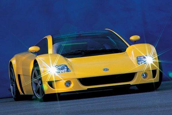Concept của Volkswagen đặt nền móng cho siêu xe Bugatti Veyron