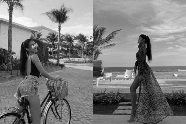 'Choáng' với khung cảnh bên trong khu resort siêu sang mà Tiên Nguyễn đang nghỉ dưỡng