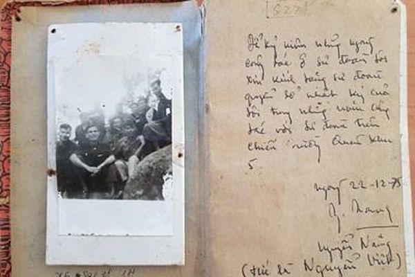 Cuốn sổ nhật ký tác chiến của sư đoàn trưởng 'Sư đoàn thép'