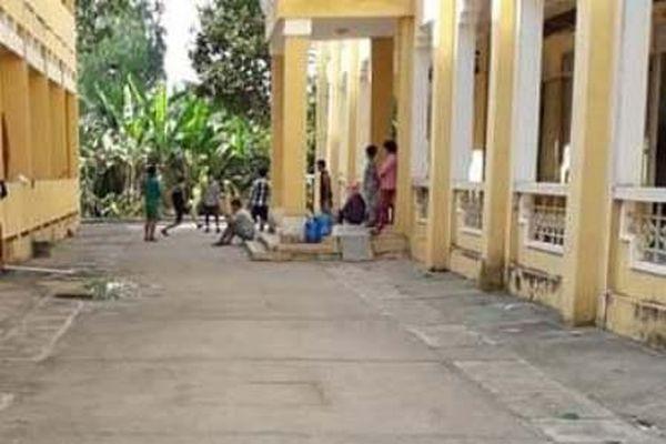 Tiếp nhận cách ly tập trung Trung tâm Y tế huyện Hồng Ngự cũ
