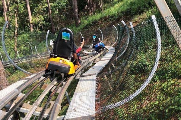 Đến Đà Lạt trải nghiệm máng trượt dài nhất châu Á