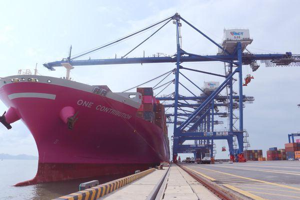 Cảng Container Quốc tế Tân Cảng Hải Phòng đón tàu trọng tải 90.000 tấn