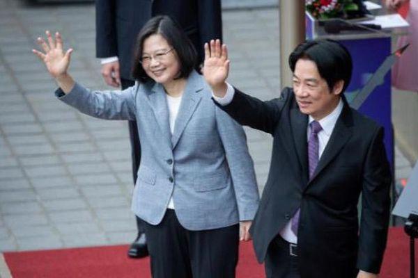Lãnh đạo Đài Loan tuyên thệ nhậm chức