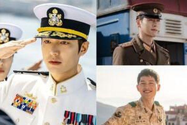 3 cặp nam chính - nam phụ mặc quân phục đẹp nhất: Bộ đôi Lee Min Ho đẹp đến ngất ngây, cặp Hyun Bin và cặp Song Jong Ki kém cạnh không kém