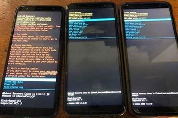 Nhiều điện thoại Samsung tại Việt Nam bị lỗi