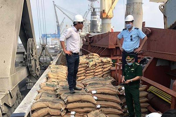 Thu giữ hơn 41 tấn gạo vận chuyển trái phép
