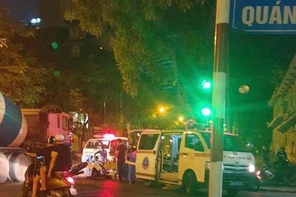 Sau khi đâm cô gái trẻ nguy kịch, đoàn xe máy tốc độ cao lại gây tai nạn
