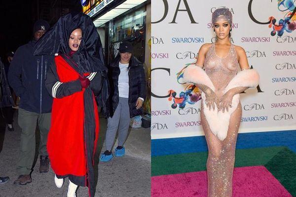 Những trang phục 'thảm họa' của nữ ca sĩ giàu nhất thế giới