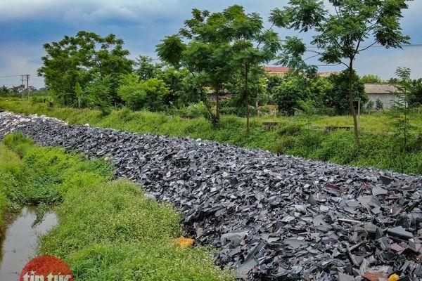 Đã tìm ra hướng xử lý 700 tấn rác thải điện tử độc hại tại Vĩnh Phúc