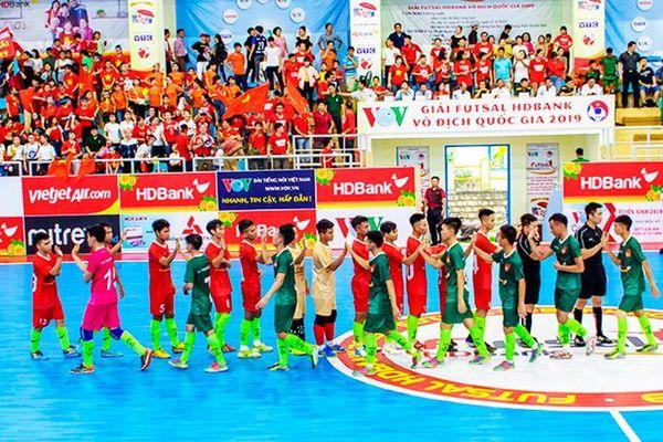 Giải Futsal HDBank sinh viên đồng hành khu vực miền Trung và Tây Nguyên: Háo hức chờ khai hội