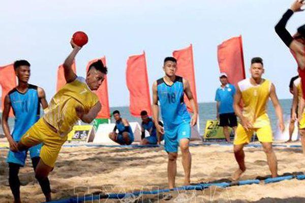Khởi tranh giải vô địch Bóng ném bãi biển toàn quốc năm 2020