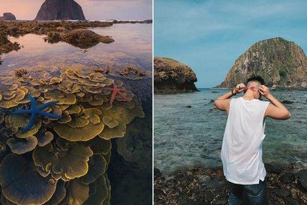Mấy ai biết Việt Nam có một hòn đảo san hô với vẻ đẹp 'siêu thực' thế này, xem ảnh mà cứ ngỡ đâu nước ngoài xa xôi