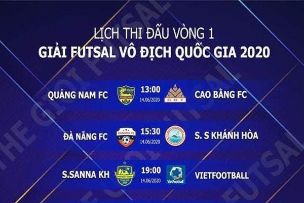 VCK giải futsal vô địch quốc gia: ĐKVĐ Thái Sơn Nam chạm mặt 'mãnh hổ' Sài Gòn ngay lượt đấu đầu