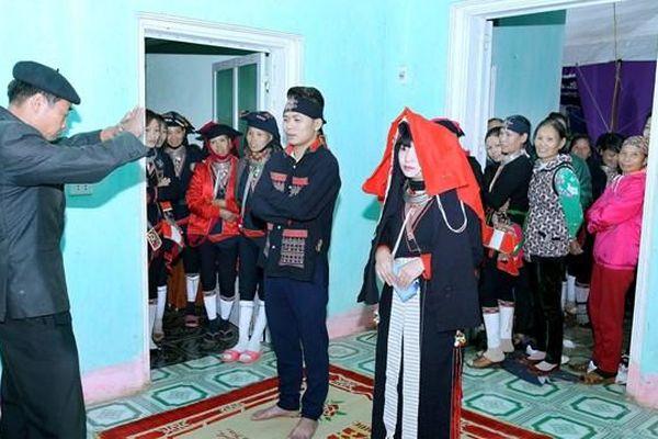 Ấn tượng đám cưới của người Dao ở Ba Vì