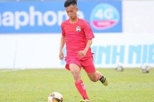 Vì sao U19 HAGL 1 chưa sử dụng Trần Gia Huy ở U19 quốc gia?
