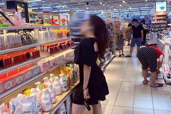Đăng ảnh uốn éo trong siêu thị nhờ dân mạng chỉnh giúp và kết